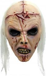 Máscara zombie lobotomizada adulto