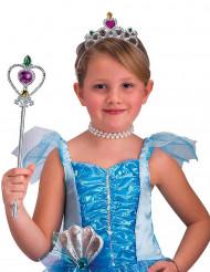 Kit princesa prateado menina