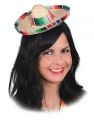 Mini sombrero adulto