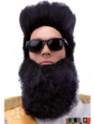 Barba preta ditador adulto