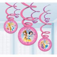6 Decorações para pendurar Princesas Disney™