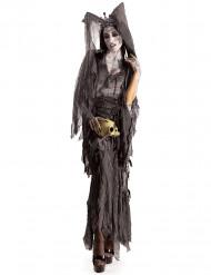 Disfarce macabro mulher Halloween