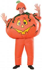 Disfarce abóbora insuflável adulto halloween