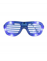 Óculos azuis LED