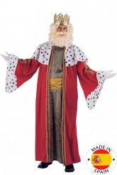 Disfarce do Rei Mago Melchior luxo adulto