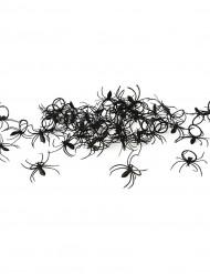 Lote d 50 aneis aranhas halloween