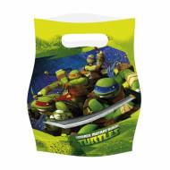 6 Sacos de festa Tartarugas Ninja™