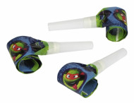 6 apitos de papel Tartarugas Ninja™