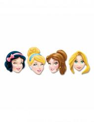 4 Máscaras de cartão Princesas Disney™