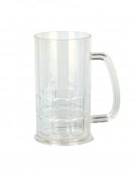 Caneca de cerveja de plástico