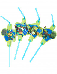 8 palhinhas verdes Tartarugas Ninja™