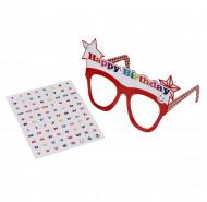 Par de óculos Happy Birthday