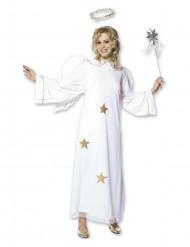 Disfarce de anjo estrela Mulher