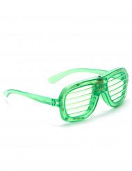 Óculos verdes LED