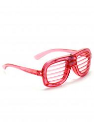 óculos vermelho LED
