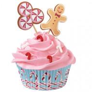 24 formas de cupcakes com decorações Wilton™