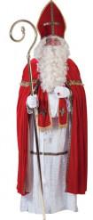 Disfarce papa São Nicolau luxo homem