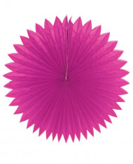 Roseta de papel Tropical cor-de-rosa