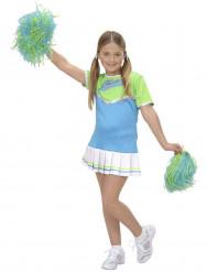 Disfarce cheeleader animadora menina