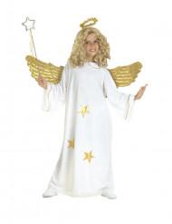 Disfarce anjo estrela criança