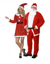 Disfarce de casal Mãe Natal & Pai Natal