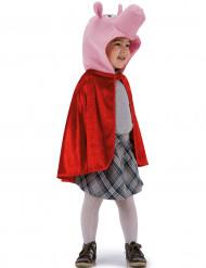 Capa porco vermelha criança
