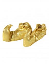 Cobre-sapatos dourados adulto