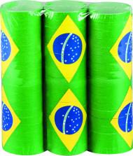 Lote de 3 serpentinas brasil