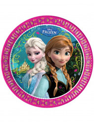8 pratos Frozen™ 23cm