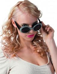 Óculos disco pretos e cinzentos para adulto