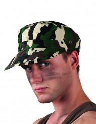 Boné camuflagem militar adulto