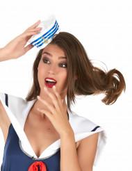 Mini chapéu marinheiro - mulher