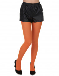 Collants cor de laranja adulto