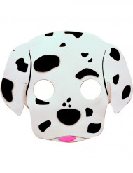 Máscara cão dálmata criança