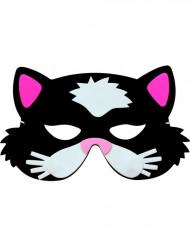 Máscara de gato infantil