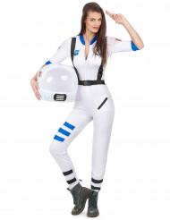 Disfarce astronauta mulher