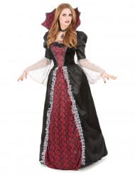 Disfarce vampira barroca mulher