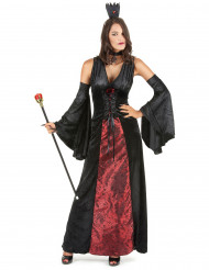 Disfarce vampira chique mulher