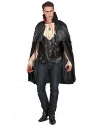 Disfarce vampiro sangrento homem