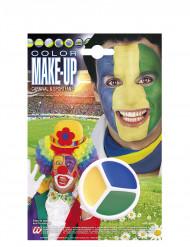 Maquilhagem apoio ao Brasil
