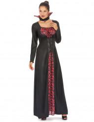 Disfarce vampira elegante mulher