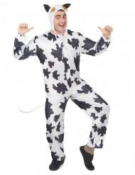 Disfarce de vaca adulto