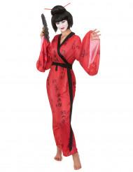 Disfarce geisha mulher