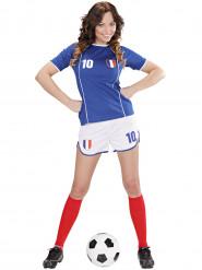 Disfarce futebolista França mulher