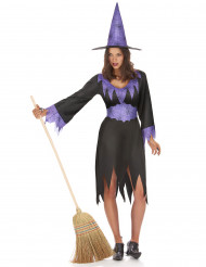 Disfarce  de bruxa mulher