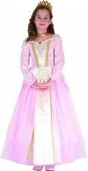 Disfarce princesa menina rosa