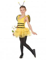 Disfarce de abelha menina