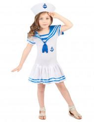 Disfarces marinheiro menina