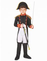 Disfarce napoleão menino