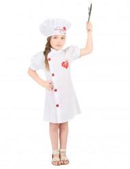 Disfarce chef cozinheiro menina